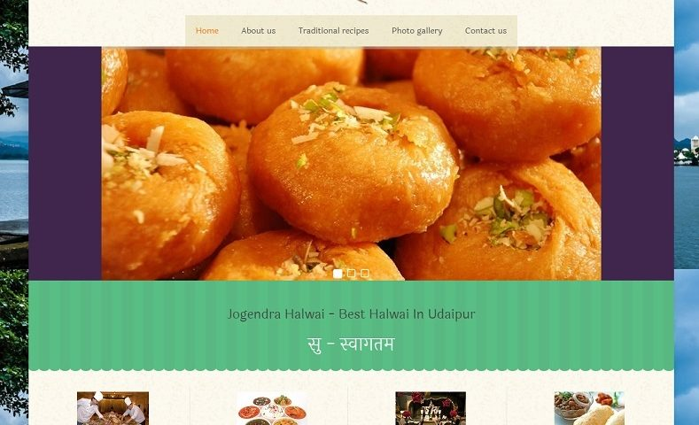 Best Halwai Website Design Company