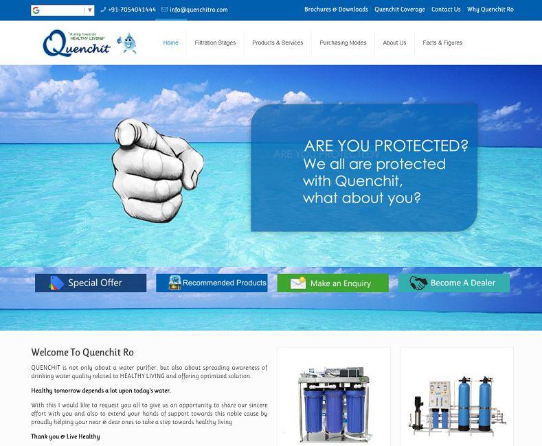 Best Water RO Manufacturer Website Design Company