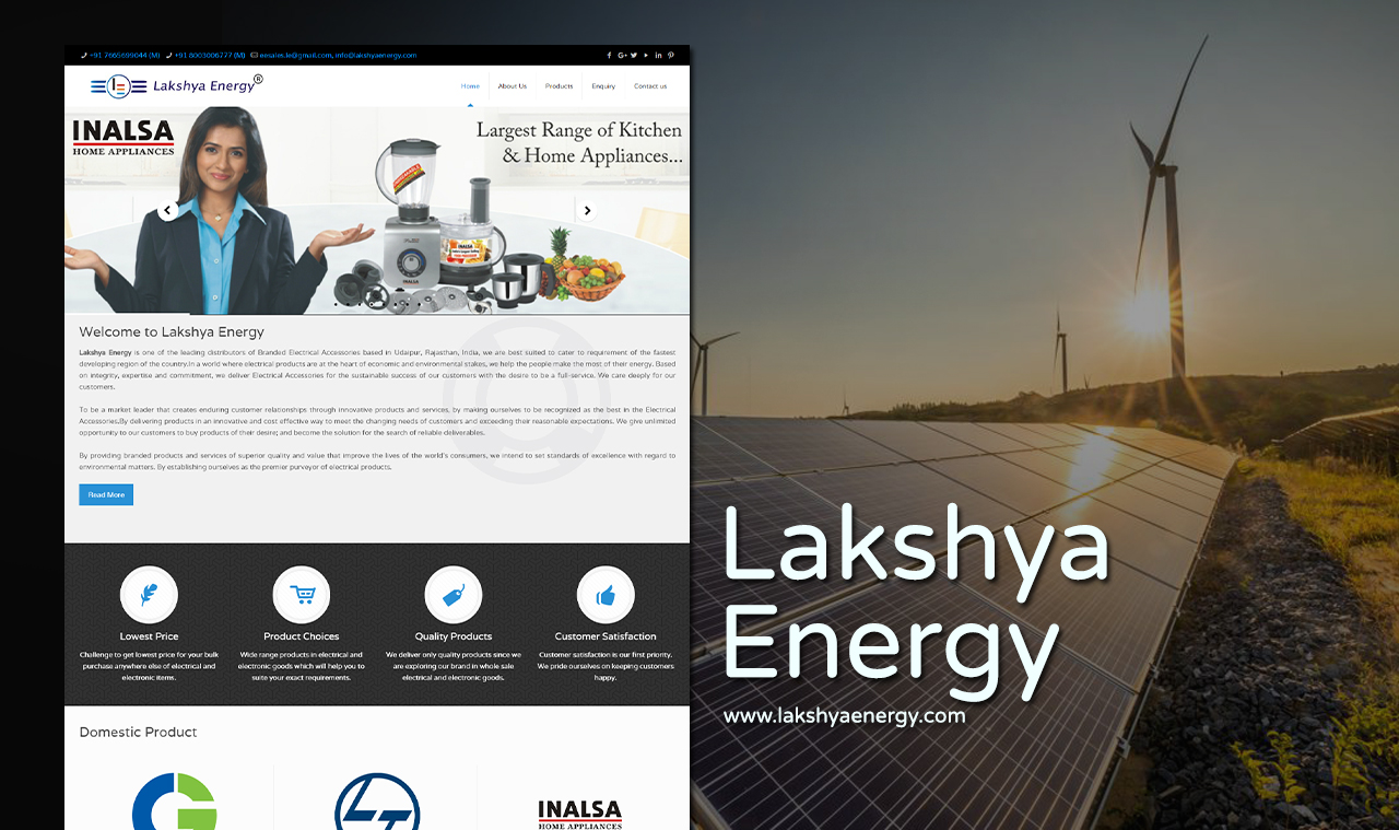 Electronics product supplier company website design for Electronic product design companies