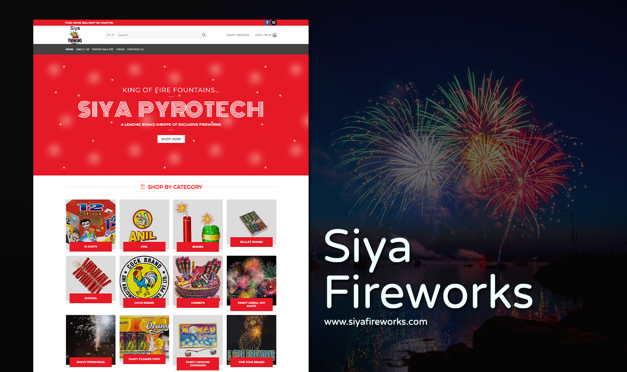Fireworks Website Design Company