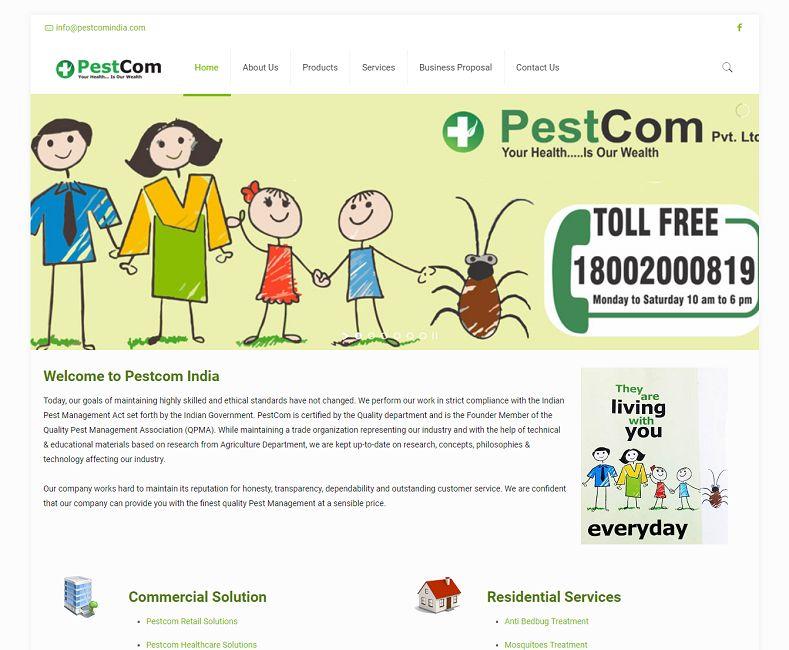 Pestcom Product Manufacturer Company