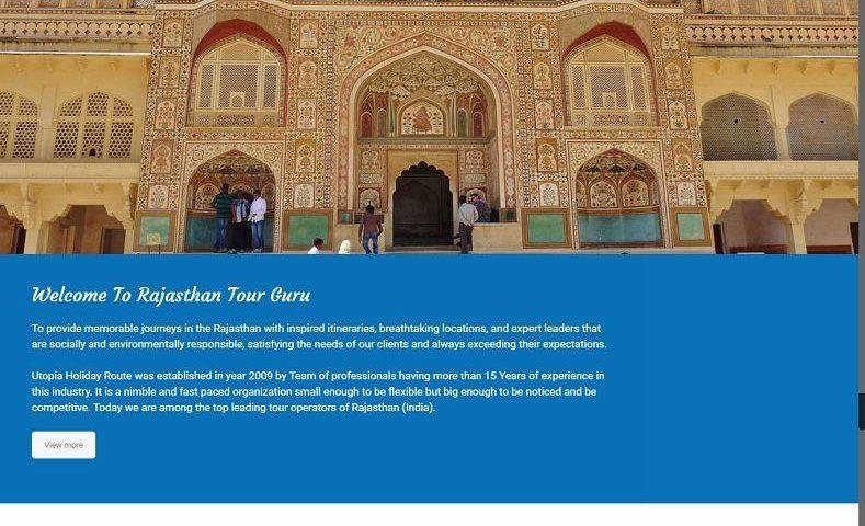Best Travel Company Website Design Company