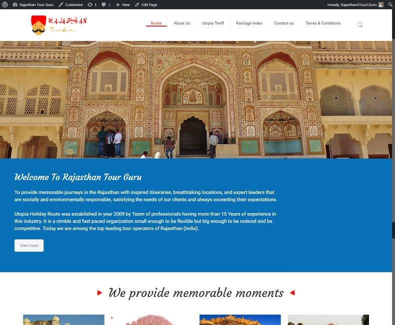 Best Travel Company Website Design Company