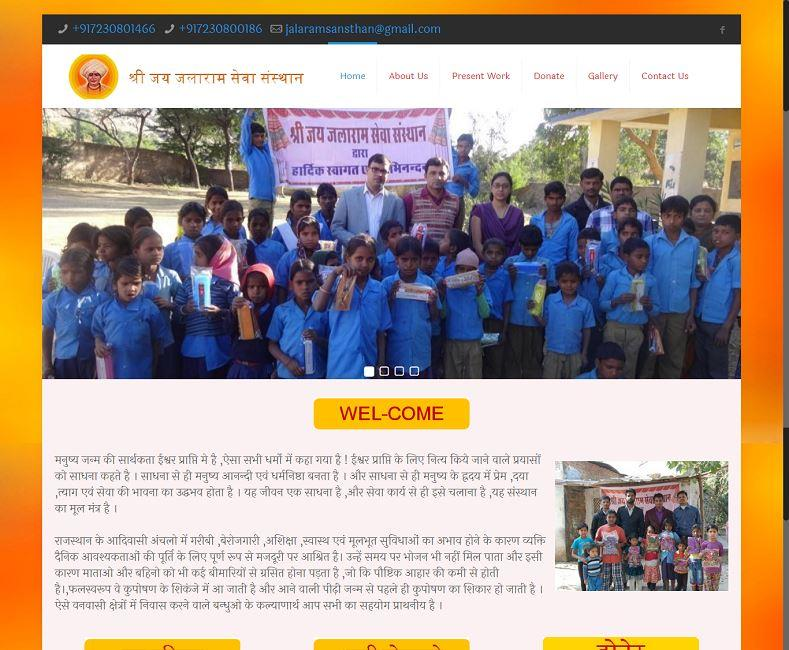 NGO Organization Website Design Company
