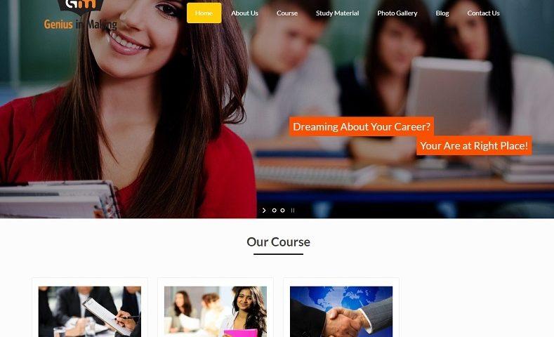 Academy Website Design Company