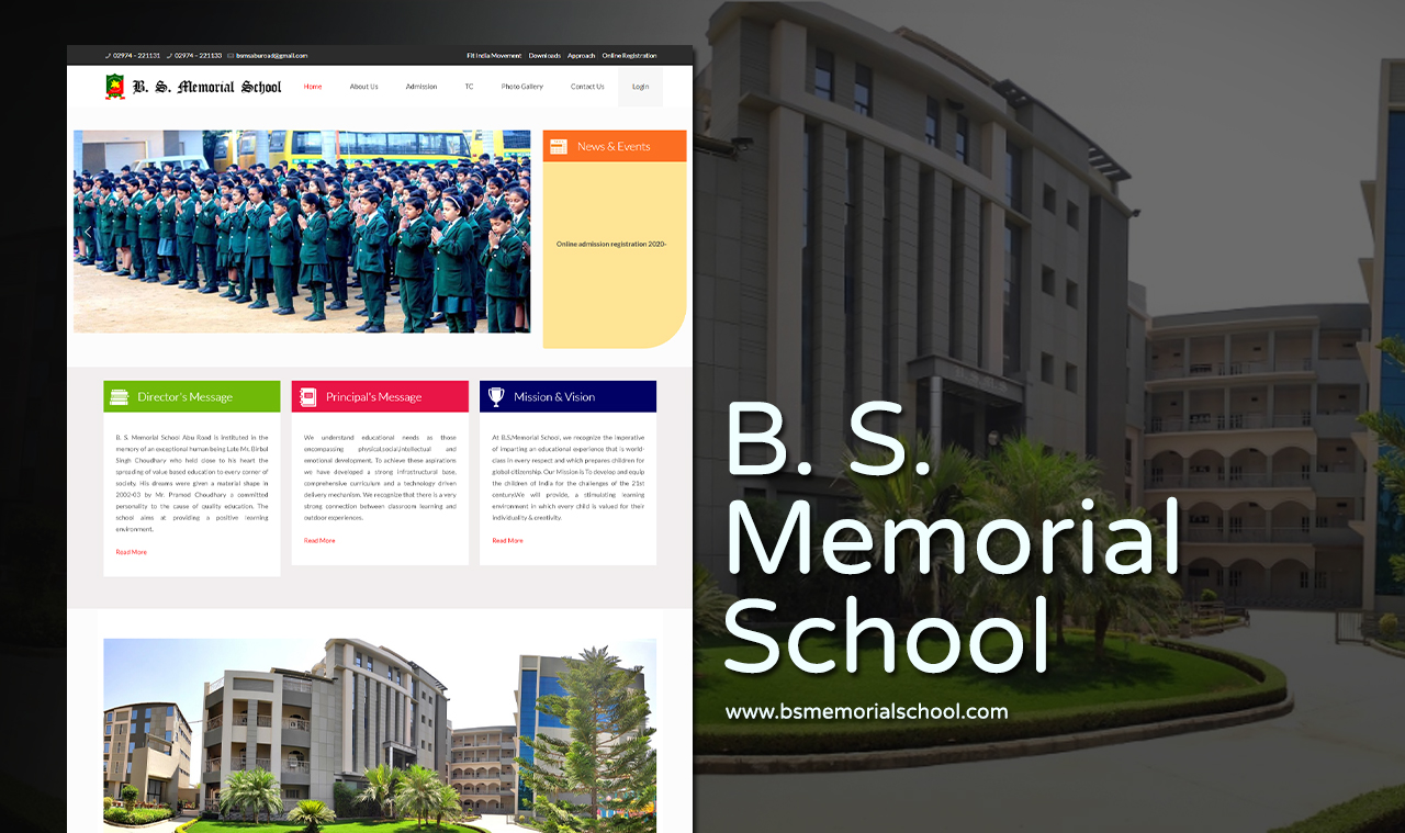 Best School Website Design Company Udaipur