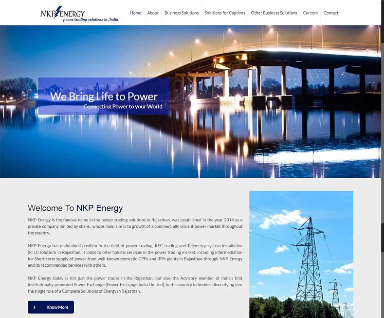 Consultancy Services Website Design Company