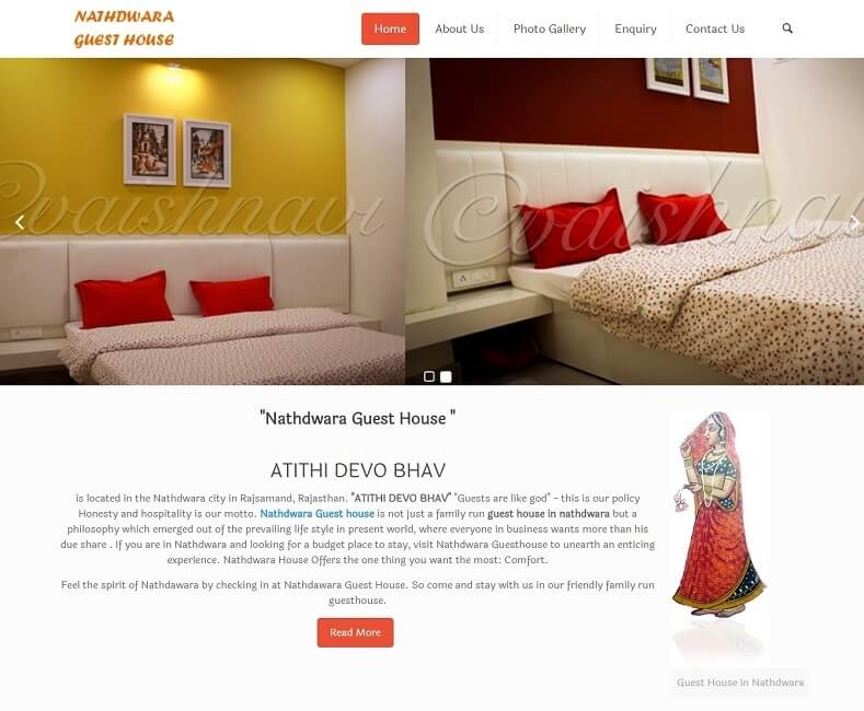 Guest House Website Design Company