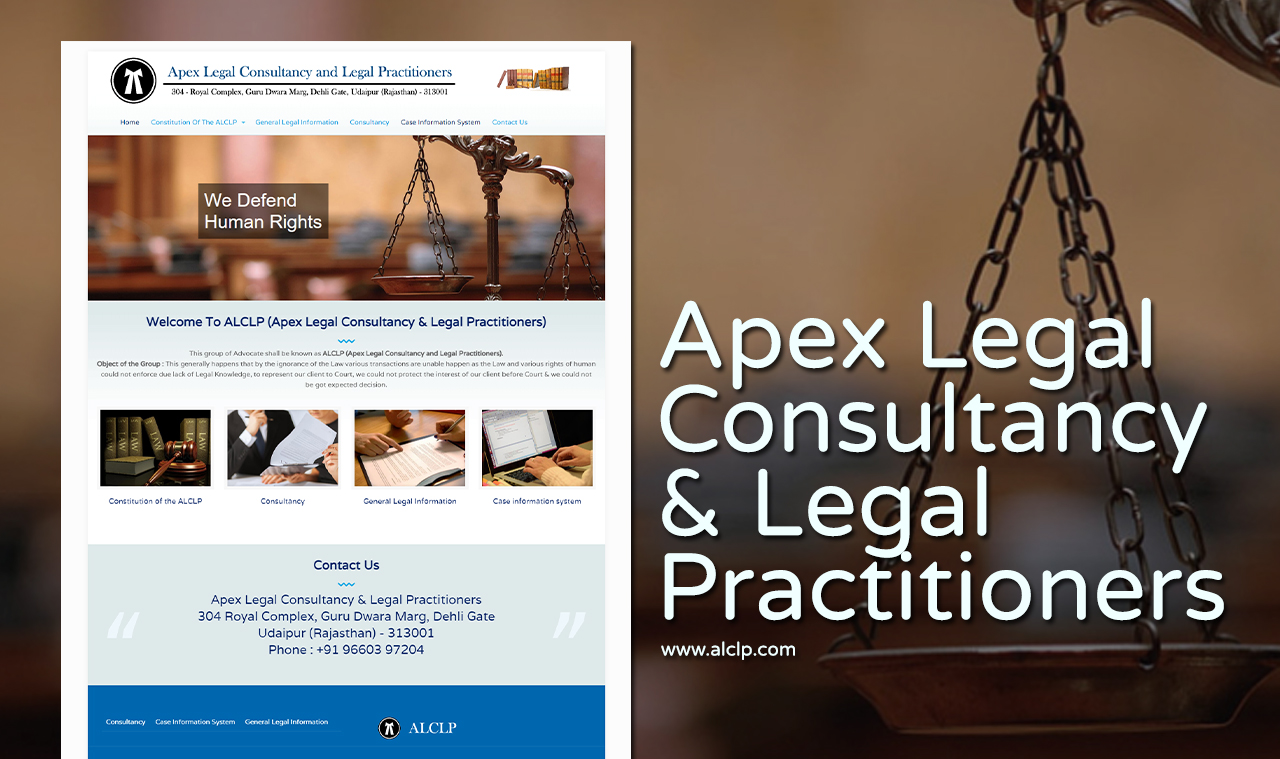 Legal Consultancy Website Design Company