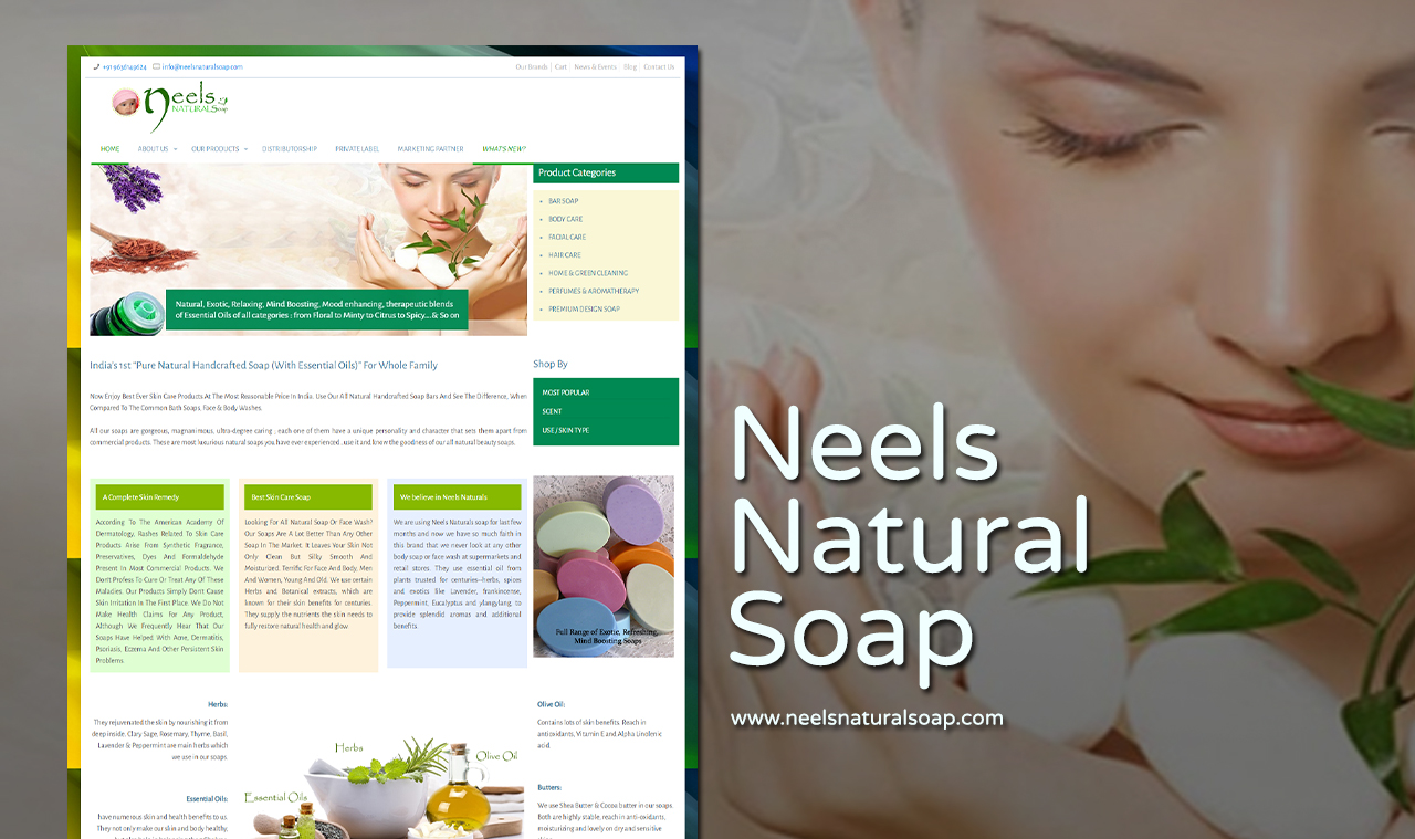 Naturalsoap Website Design Company