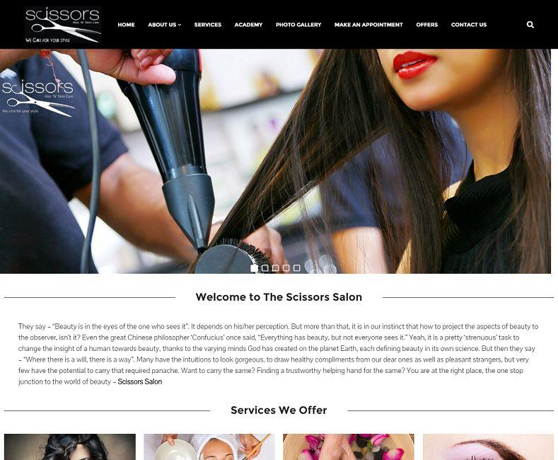 Salon Website Design Company