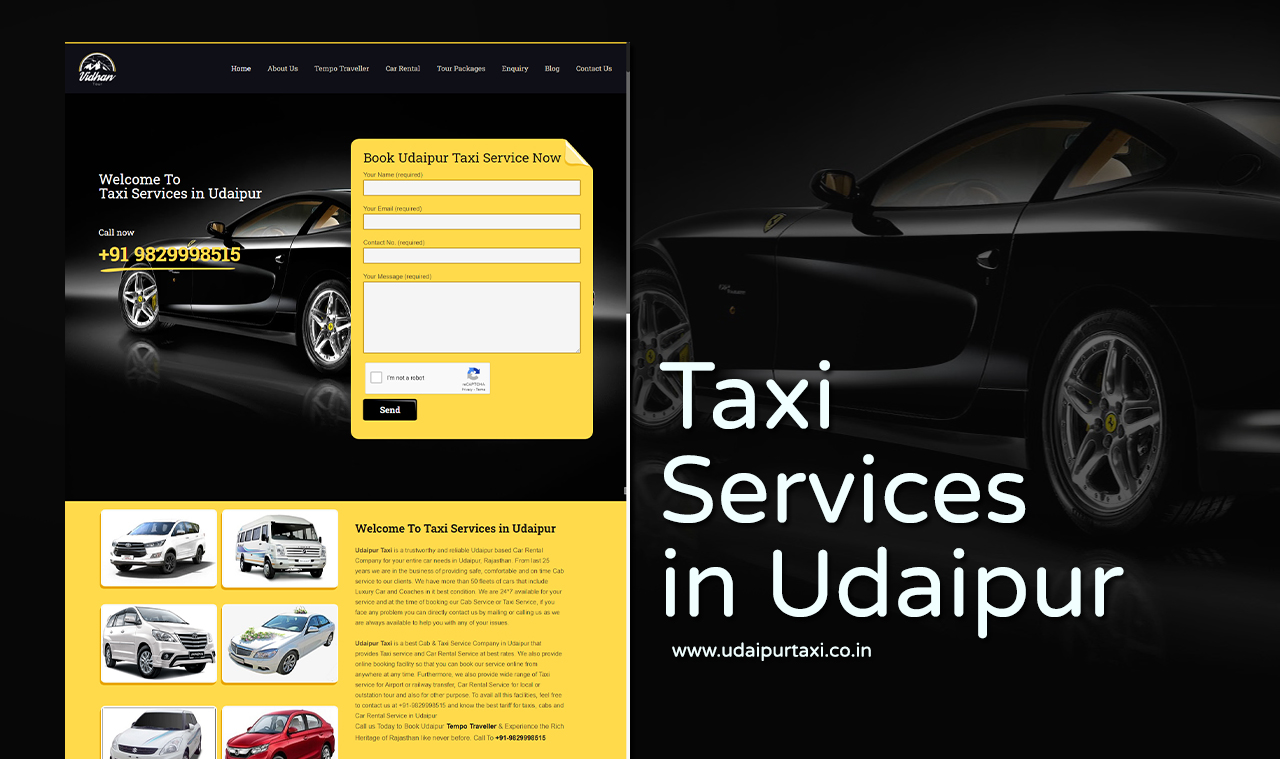 Taxi Website Design Company