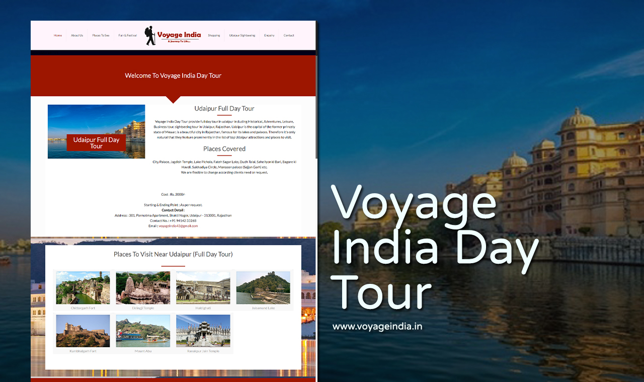 Travel Agencies Website Design Company