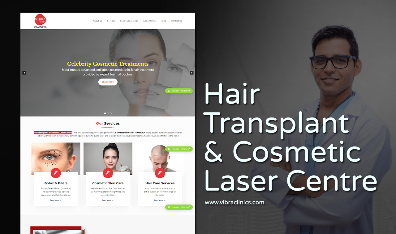 Hair Transplant Website Design Company