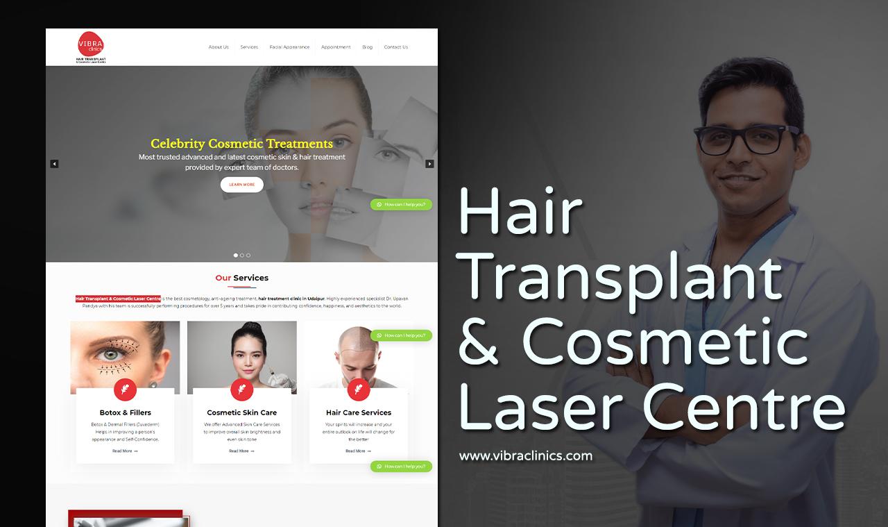 Hair Transplant Website Design Company