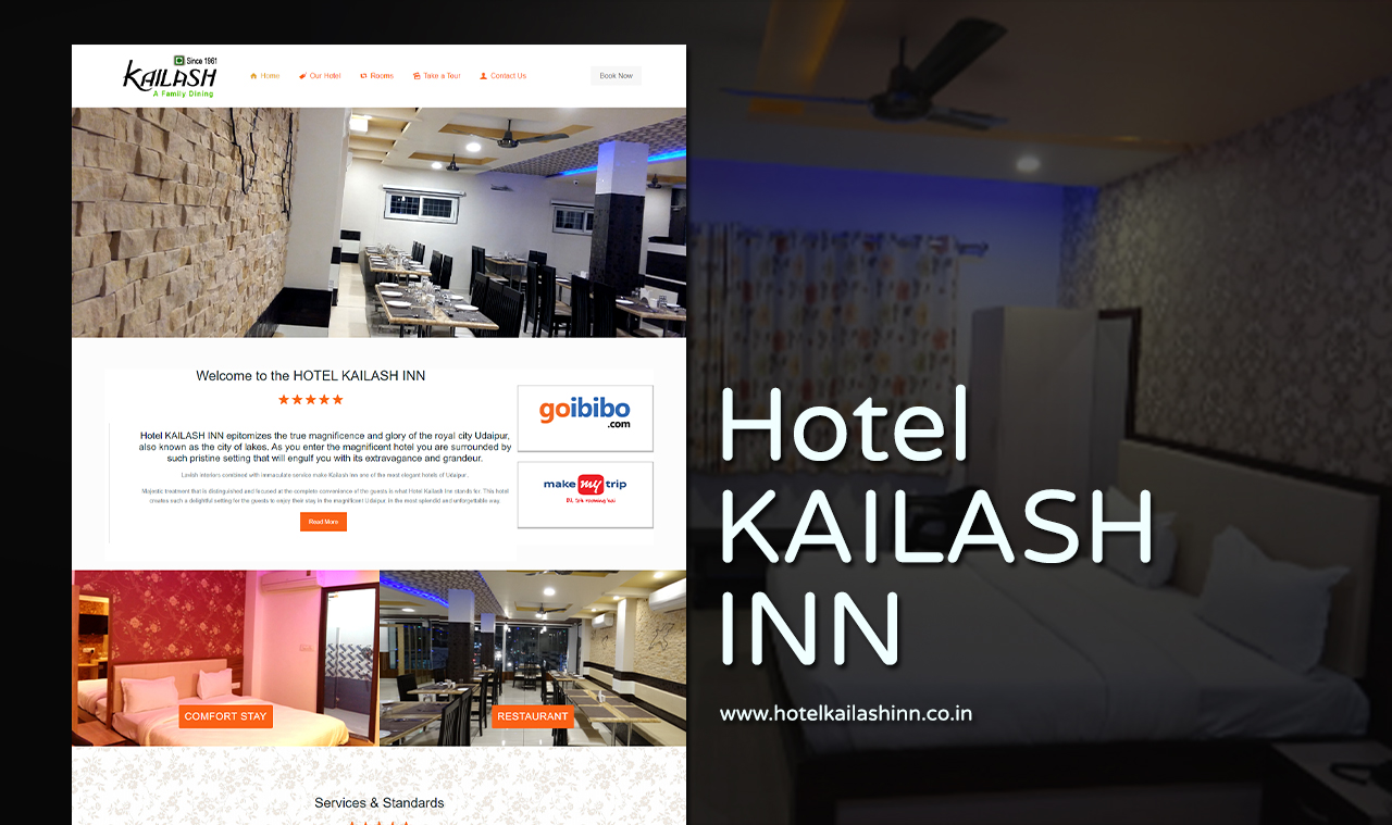 Best hotel web design company udaipur rajasthan india for Hotel web design