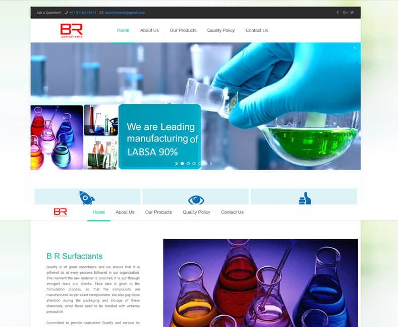 Industrial Website Design Company