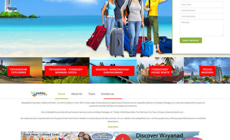 Travel Website Design Company