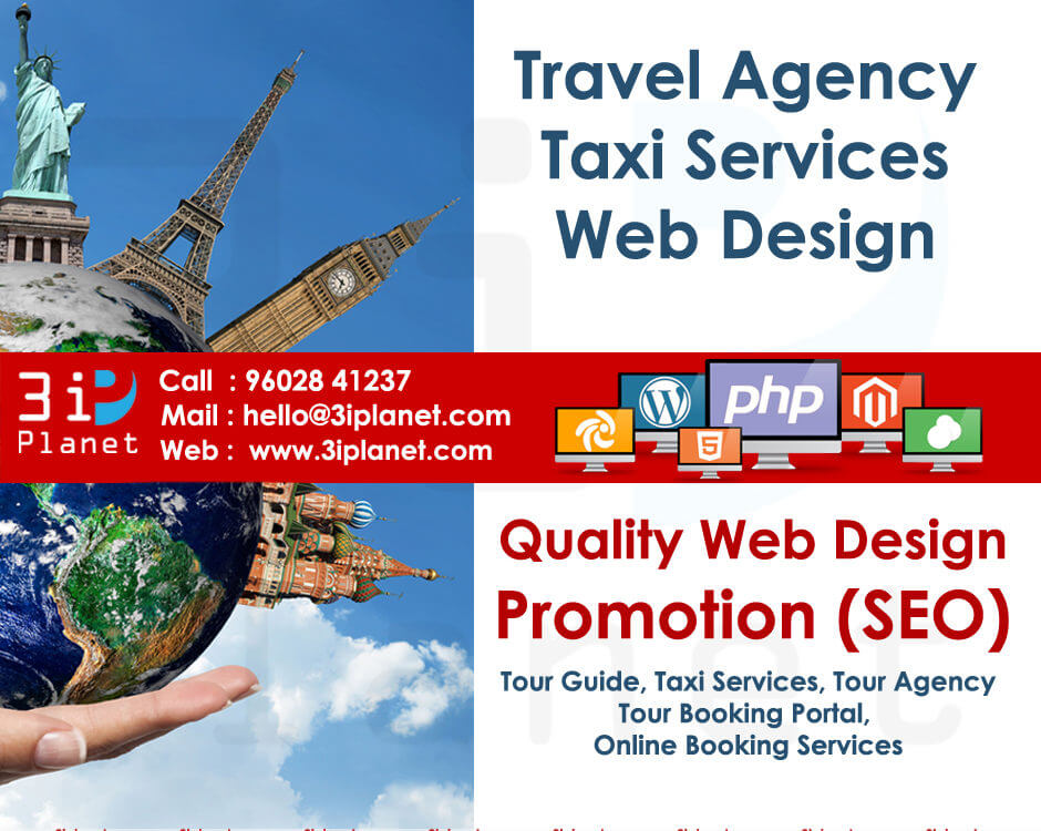 Travel Agency Website Design Services