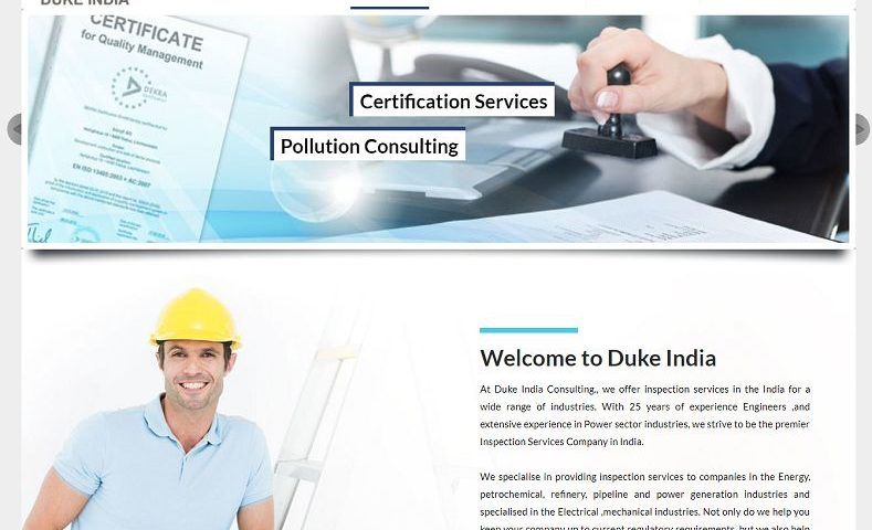 Industrial Company Website Design Company