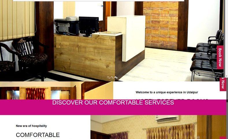 Luxury Hotel Website Design Company