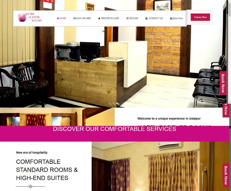 Luxury Hotel Website Design Company