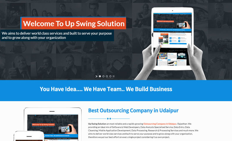 Outsource Company Website Design Company