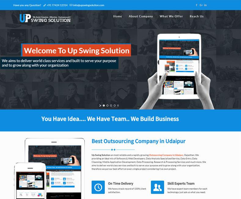 Outsource Company Website Design Company