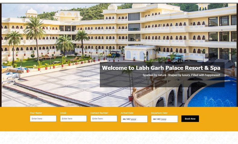Resort Website Design Company