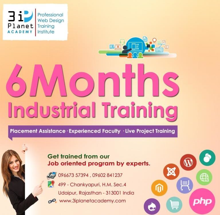6 Months Industrial Training in Udaipur