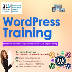 CMS Wordpress Training in Udaipur
