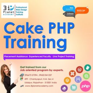 Cake PHP Framework Training in Udaipur