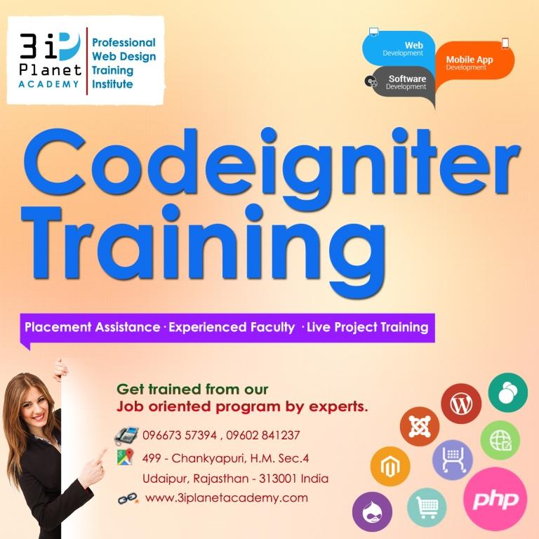 Codeigniter Framework Training in Udaipur