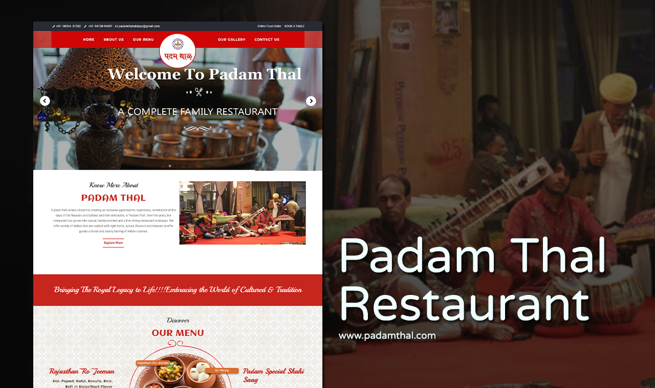 Website Design Company for Restaurants