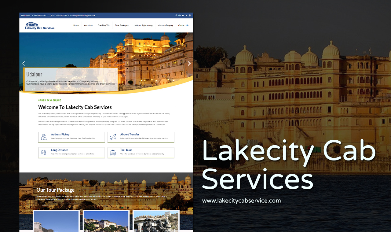 Best Cab Service Website Design Company