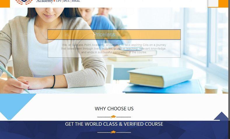 Best Cpt Ipcc Acdemy Website Design Company