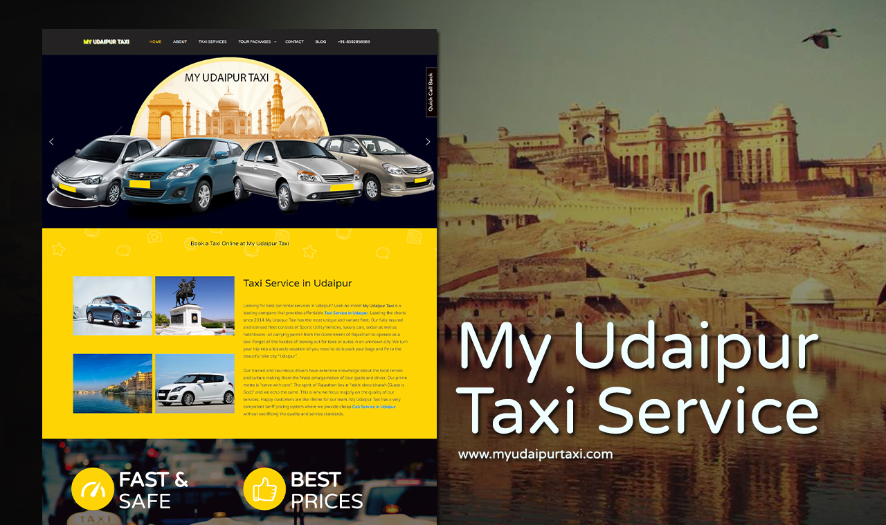 Best Taxi Website Design Company