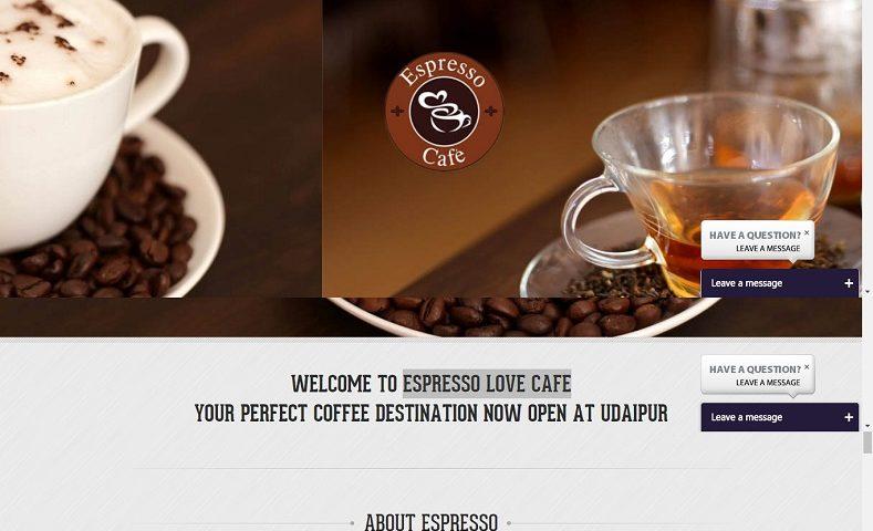 Cafe Website Design Company