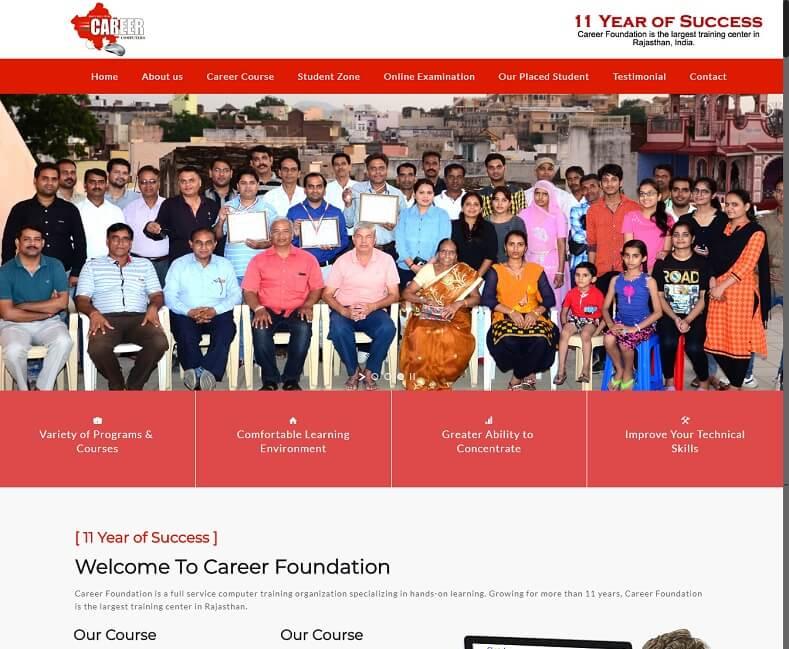 Computer Institute Website Design Company