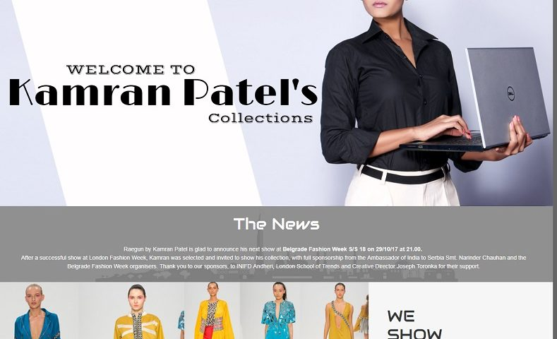 Fashion Designer Website Design Company