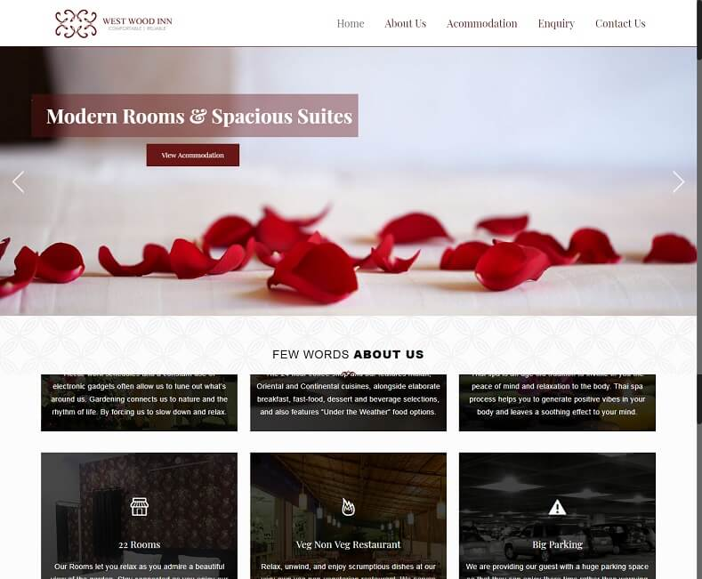 Hospitality Website Design Company