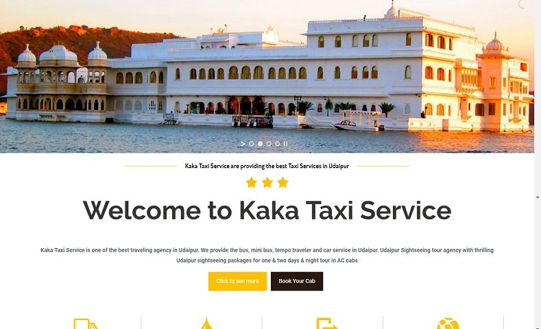 Online Taxi Booking Website Design Company