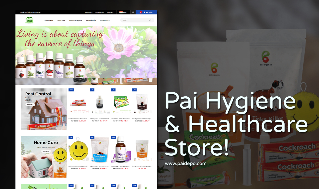 Organic Product Company Web Design Company