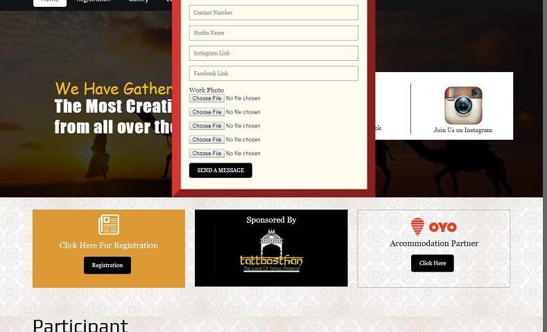 Tattoo Website Design Company