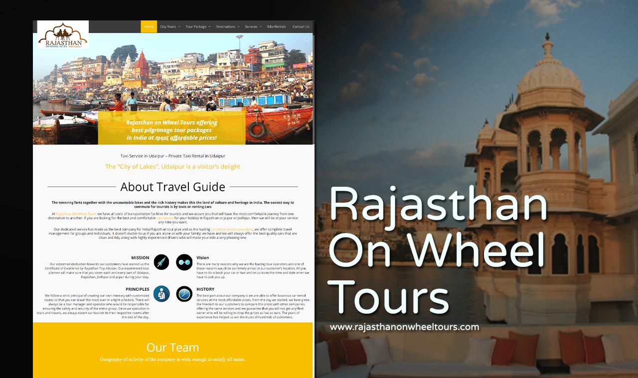 Tour Operator Website Design Company