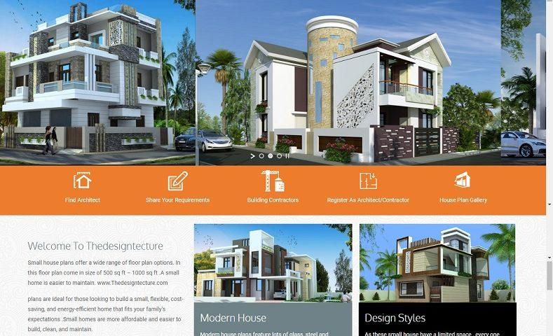 Web Design Company for Architect