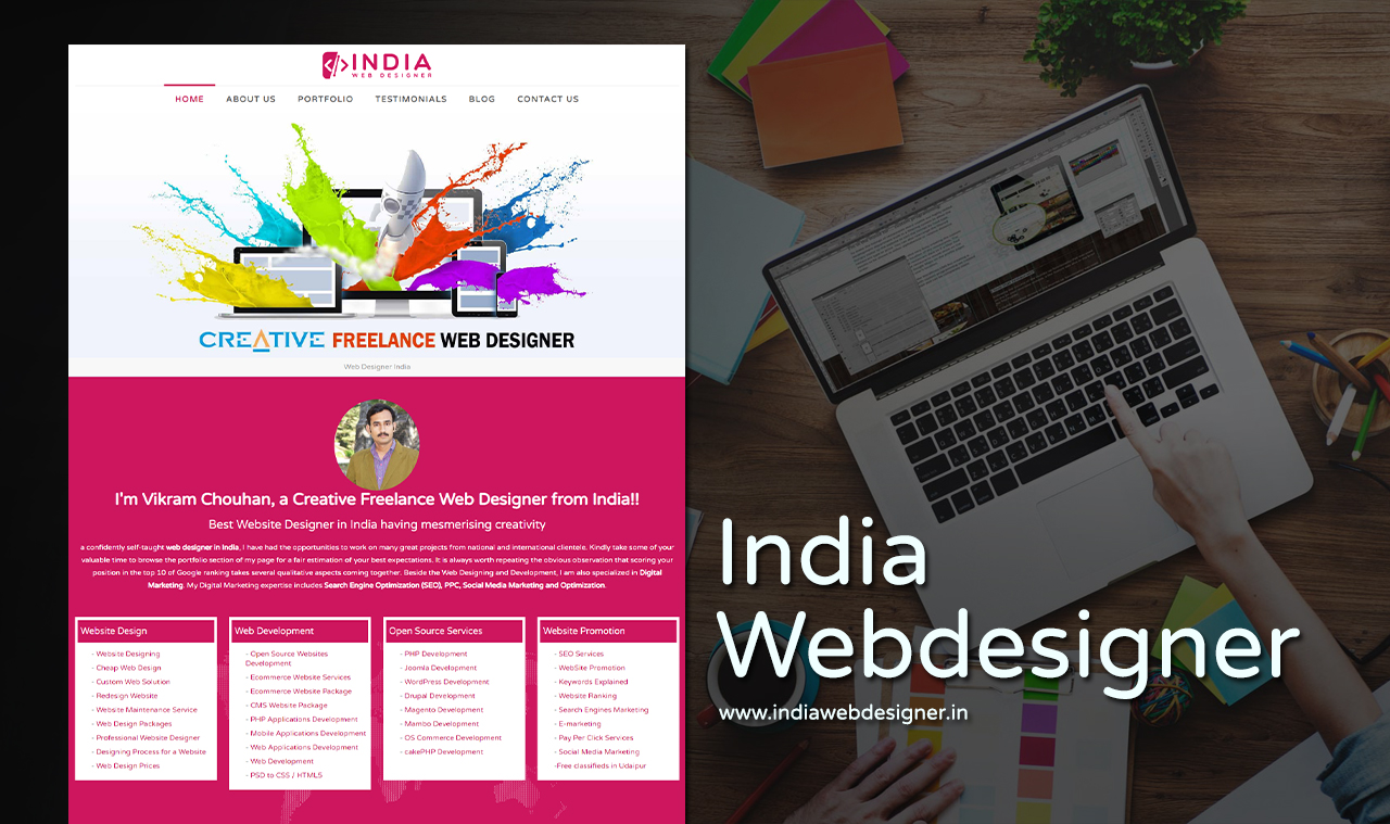 Web Designer Website Design Company