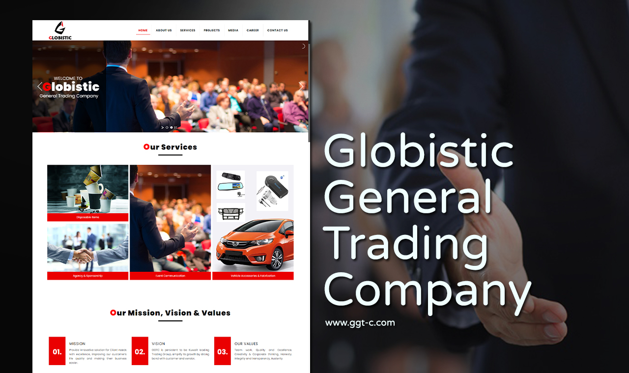 General Trading-Company Website Design Company