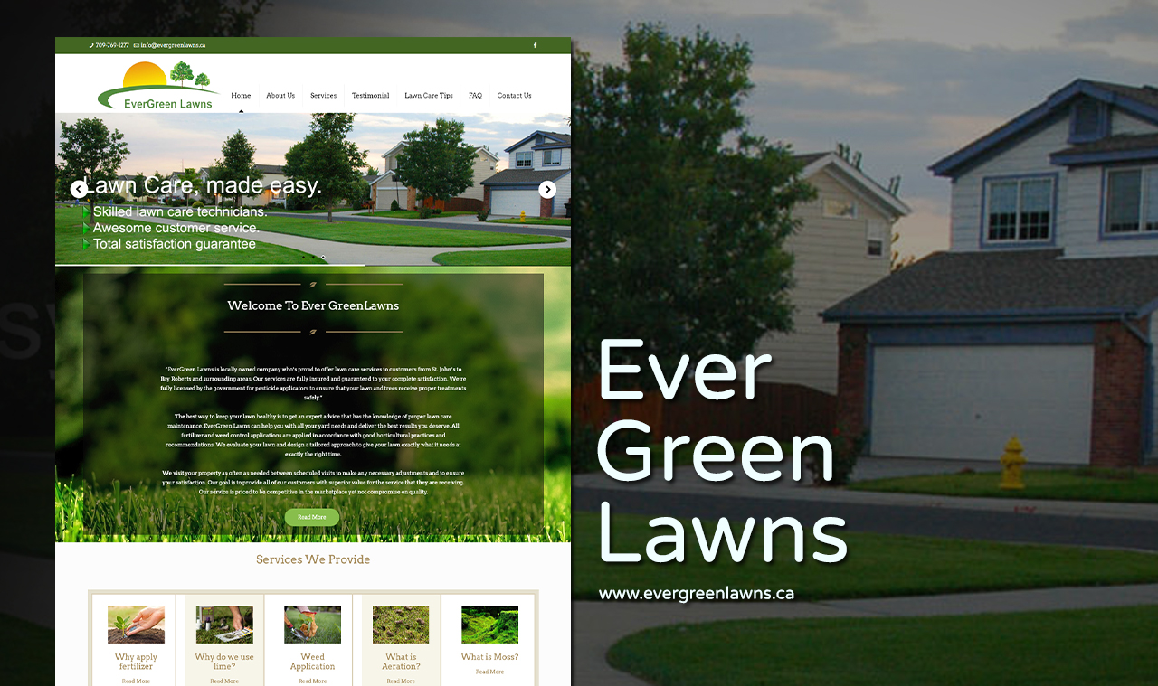 Lawn Care Website Design Company